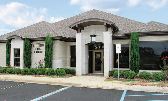 our office at University General Dentistry in Tuscaloosa